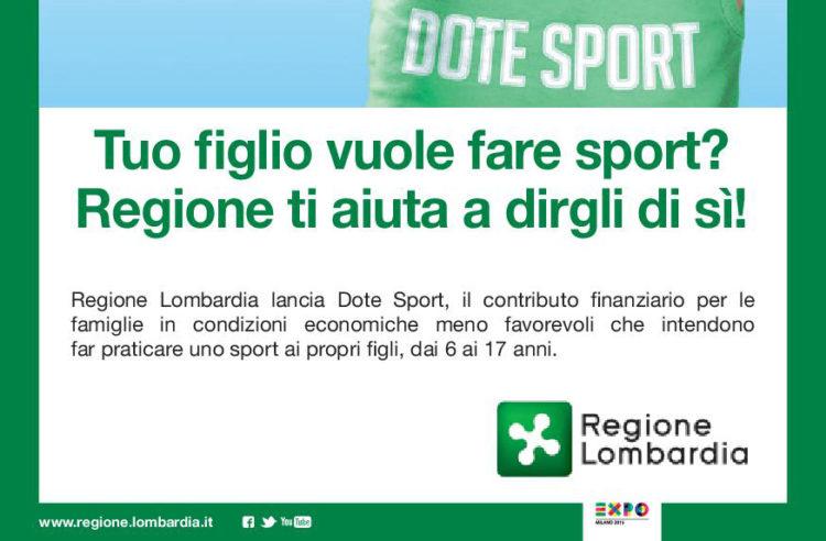 Dote Sport: la Lombardia ti incentiva all'attività fisica, ecco il bando