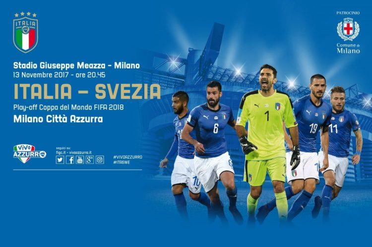 Il Master PCGdIS allo stadio S. Siro per Italia-Svezia !