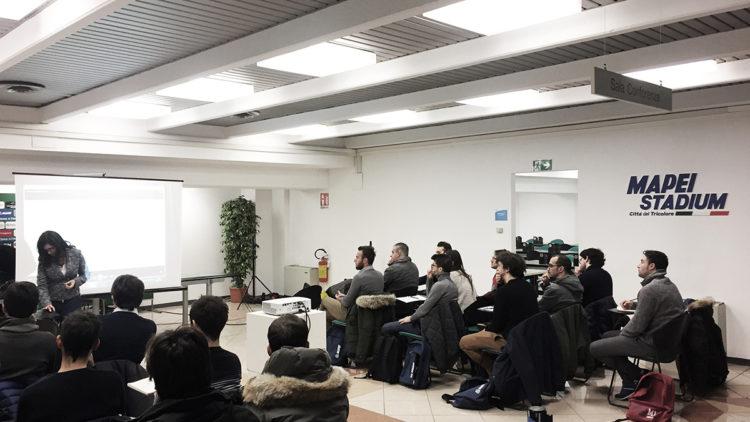 WorkShop al MAPEI STADIUM di Reggio Emilia
