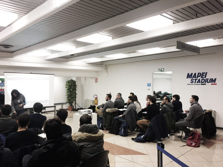 WorkShop al MAPEI STADIUM di Reggio Emilia