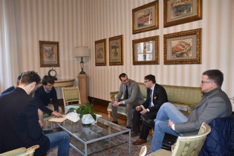 Il gruppo di lavoro del Master in Comune a Parma