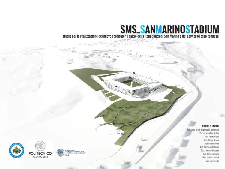 San MarinoStadium. Studio per la realizzazione del nuovo stadio per il calcio della Repubblica di San Marino e dei servizi ad esso connessi