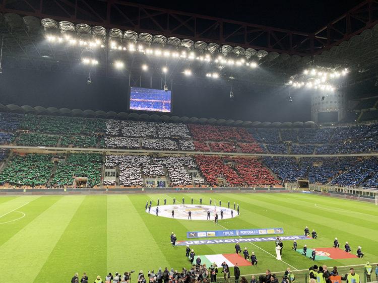Con la FIGC allo stadio San Siro per Italia – Portogallo, valevole per la Nations League!