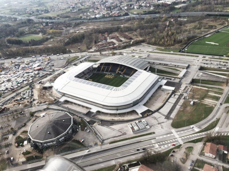 SiteVisit+MatchDay/Dacia Arena di Udine