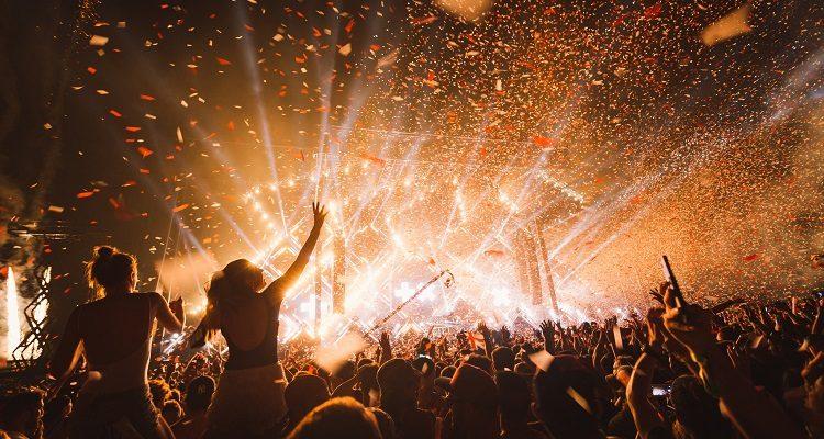 Grandi eventi per gli spettacoli musicali