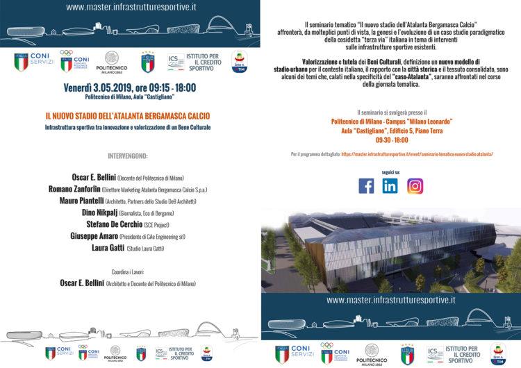 """Un anno di Master sempre sul pezzo dell'attualità: al master_PCGdIS il """"Gewiss Stadium"""" la nuova casa dell'Atalanta Bergamasca Calcio"""
