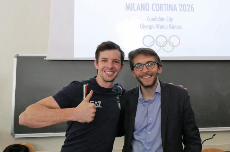 Un anno di Master, verso le Olimpiadi Milano-Cortina 2026 con l'assessore Maran e i campioni del pattinaggio artistico su ghiaccio!