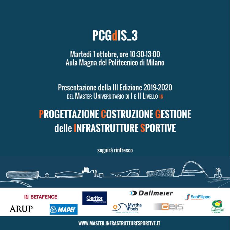 PCGdIS_3/presentazione della 3 Edizione 2019-2020