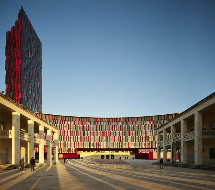 Best Practice: Nuovo Stadio Nazionale dell'Albania a Tirana